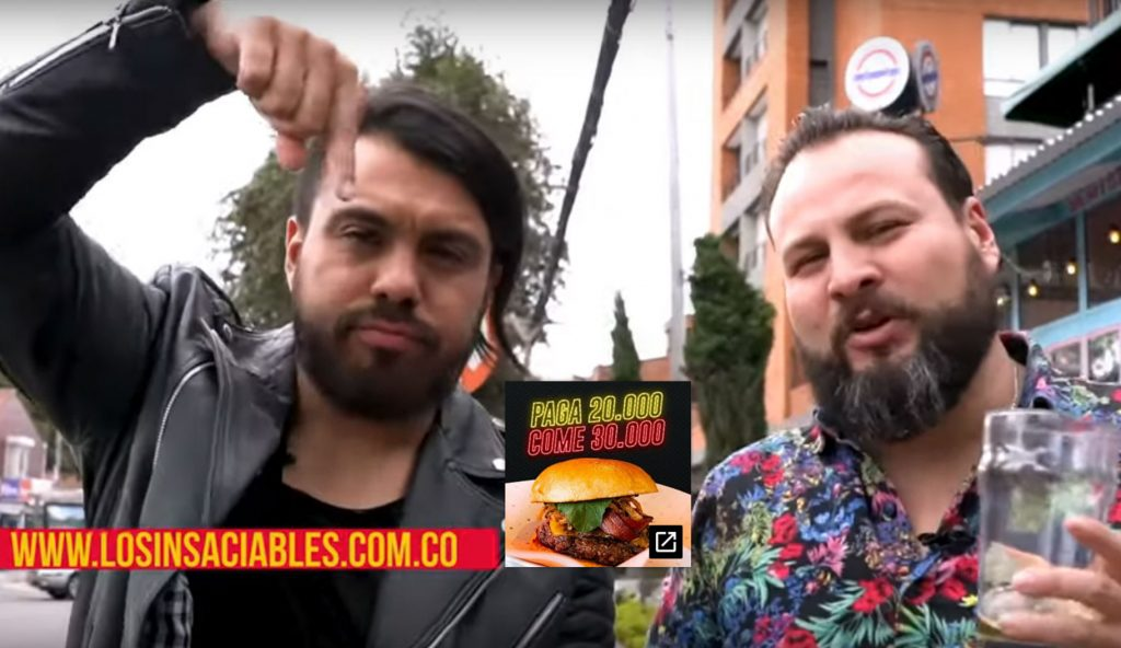 Los insaciables en Smoking Burgers
